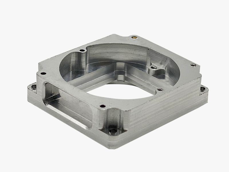Custom aluminum CNC machining panel housing