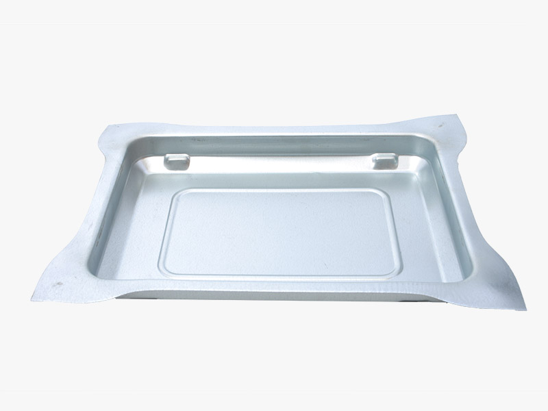Round Non-stick Aluminum Die Casting Portable BBQ Grill Roasting Pan/Plate
